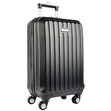 """Kenneth Cole Reaction Departure Point 20"""" Carry-on Expandable Spinner, Black"""