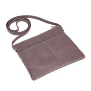 Royce Leather Women's Colombian Leather Cross-Body Handbag (675-CAFE-VL)
