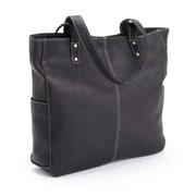 Royce Leather Women's Hobo Shoulder Bag in Colombian Leather (678-BLACK-VL)