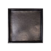 Royce Aristo Leather Desktop Organizer Tray (777-BLK-AR)