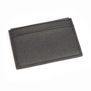 Royce Leather Credit Card Wallet with RFID Blocking Technology for Identity Protection, Black (RFID-400-BLK-4)