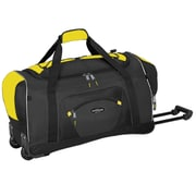 Travelers Polo & Racquet Club Adventurer 22'' Travel Duffel; Yellow and Black