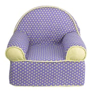 Cotton Tale Periwinkle Kids Cotton Foam Chair