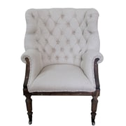 White x White Taverny Arm Chair