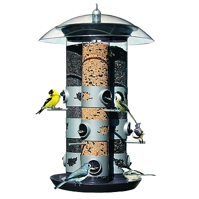 Birdscapes Triple Tube Bird Feeder (WYF078276503408) photo