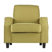 Wildon Home   Lakewood Upholstered Arm Chair; Apple Green