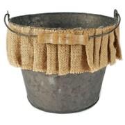 Blossom Bucket Bucket Round Pot Planter