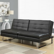Monarch Specialties Inc. Futon Chair; Black