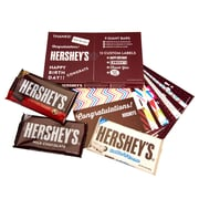Hersheys Giant Bar Label Kit with 9 Assorted Bars, 1 Each