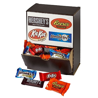 HERSHEY'S 90-Count Snack Size Assortment Box, 48 oz 1955143