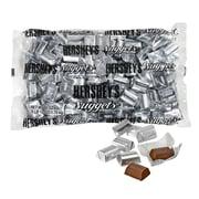 HERSHEYS Nuggets Milk Chocolate, Silver, 60-Ounce Bag, 1 Each
