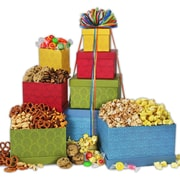 Gourmet Gift Basket Festive Favorites Gourmet Gift Tower 3LB