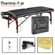 "Master Massage Therma-Top Massage Table, 31"", Black (28610)"