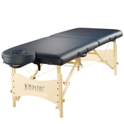 "Master Massage Portable Massage Table Pro Package, 25"", Royal Blue (26252)"