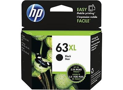 HP 63XL Black Ink Cartridge High Yield F6U64AN 140