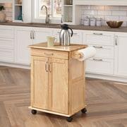 """Home Styles 34"""" Sustainable Hardwood Kitchen Cart"""