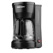 Black & Decker (DCM600B) 5 Cup Coffeemaker, Black