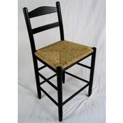 Dixie Seating Carolina 24'' Bar Stool; Black