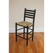Dixie Seating Carolina 24'' Bar Stool; Black