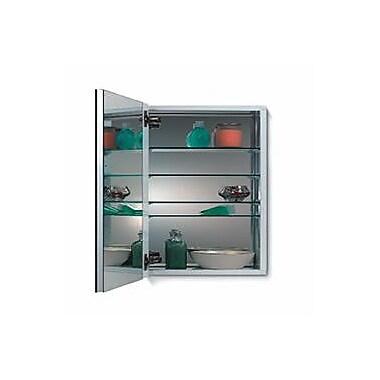 Jensen Metro Recessed Flat Edge Medicine Cabinet