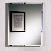 Jensen Horizon 16'' x 26'' Recessed Beveled Edge Medicine Cabinet