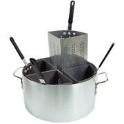 Update International 20 Qt. Aluminum Fryer/Pasta Comb