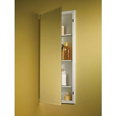 Jensen Horizon 16'' x 36'' Recessed Beveled Edge Medicine Cabinet