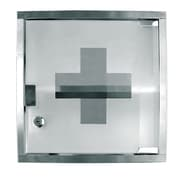 Update International 12'' x 12'' Stainless Steel First Aid Cabinet