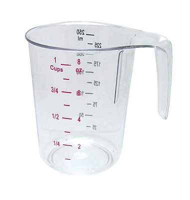 Update International 1 Cup Polycarbonate Measuring Cup WYF078278108038
