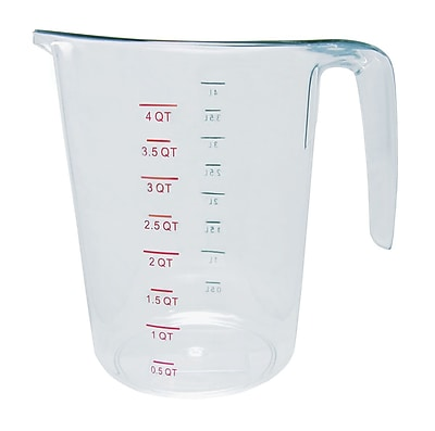 Update International 4-Qt Polycarbonate Measuring Cup WYF078278108039