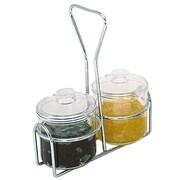 Update International 7 Oz. Condiment Jar w/ Lid