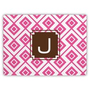 Dabney Lee Lucy Single Initial Cutting Board; X