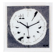River City Clocks Wine Glass Wall Clock