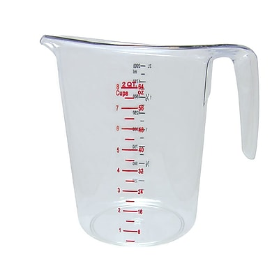 Update International 2-Qt Polycarbonate Measuring Cup WYF078278108037