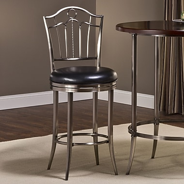 Hillsdale Portland 30'' Swivel Bar Stool with Cushion