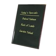 Update International Wood Frame Write-On Lap Board Chalkboard, 3' H x 2' W