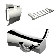 American Imaginations 3 Piece Bathroom Hardware Set