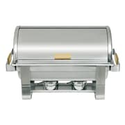 Update International 8 Qt Oblong 90 Degree Roll Top Chafer