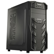 Enermax Mid-Tower 9 x Bay Computer Case, Black (ECA3321B-BT(U2))