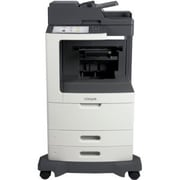 Lexmark 24T7408 Color Multifunction Monochrome Laser Printer, MX810dfe, New