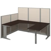 Bush Business Office in an Hour Collection 89W x 65D U-Workstation - Installed