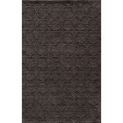 Momeni Gramercy Hand-Loomed Black/Brown Area Rug; 7'6'' x 9'6''