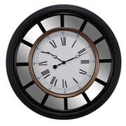 nexxt Design Vintage 22'' Mirrored Wall Clock
