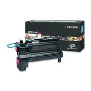 Lexmark C792X1MG Return Program Toner Cartridge, Laser, Extra High Yield, OEM, Magenta, (C792X1MG)
