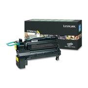 Lexmark C792X1YG Return Program Toner Cartridge, Laser,Extra High Yield, OEM, Yellow, (C792X1YG)
