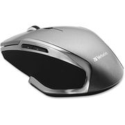Verbatim ® 98621 USB Wireless Notebook 6-Button Deluxe Blue-LED Mouse, Graphite