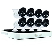 Night Owl 8-Channel Network Video Recorder with 8 Night Vision IP Cameras (NVR10-882)