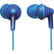 Panasonic RP-HJE125 Wired Earbud Stereo Headphones, Blue