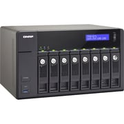 Qnap® TVS-871-I7-16G 8 Bay Turbo Diskless NAS Server with 4K Video Playback and Transcoding for PC/Mac/Linux
