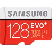 Samsung MB-MC128DA/AM EVO+ Class 10/UHS-I 128GB microSDXC Memory Card